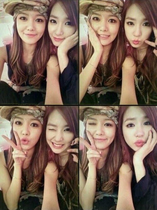 Tiffany and Sooyoung New Selca